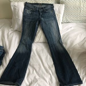 "Sz 26 Citizens of Humanity bootcut ""Kelly"" jeans"